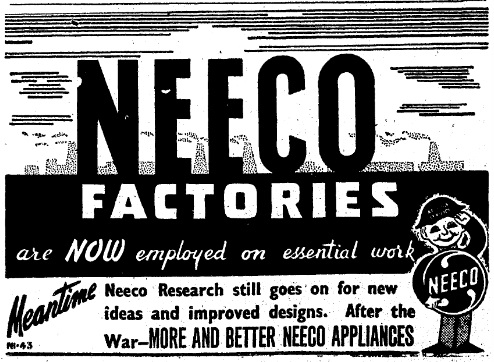 NEECO and the War Effort