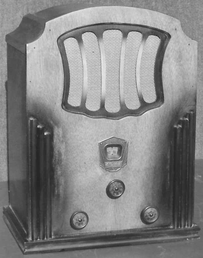 NZ Vintage Radio - 1933 Acme 4V_TRF