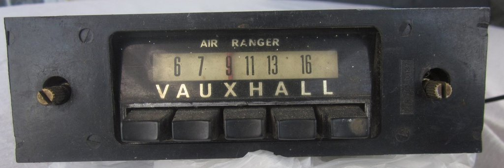 NZ Vintage Radio - Air Ranger Vauxhall