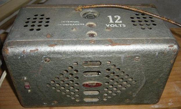 NZ Vintage Radio - 1955 Clipper CR8U5 Clipper Eight