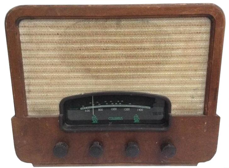 NZ Vintage Radio - Columbus 132