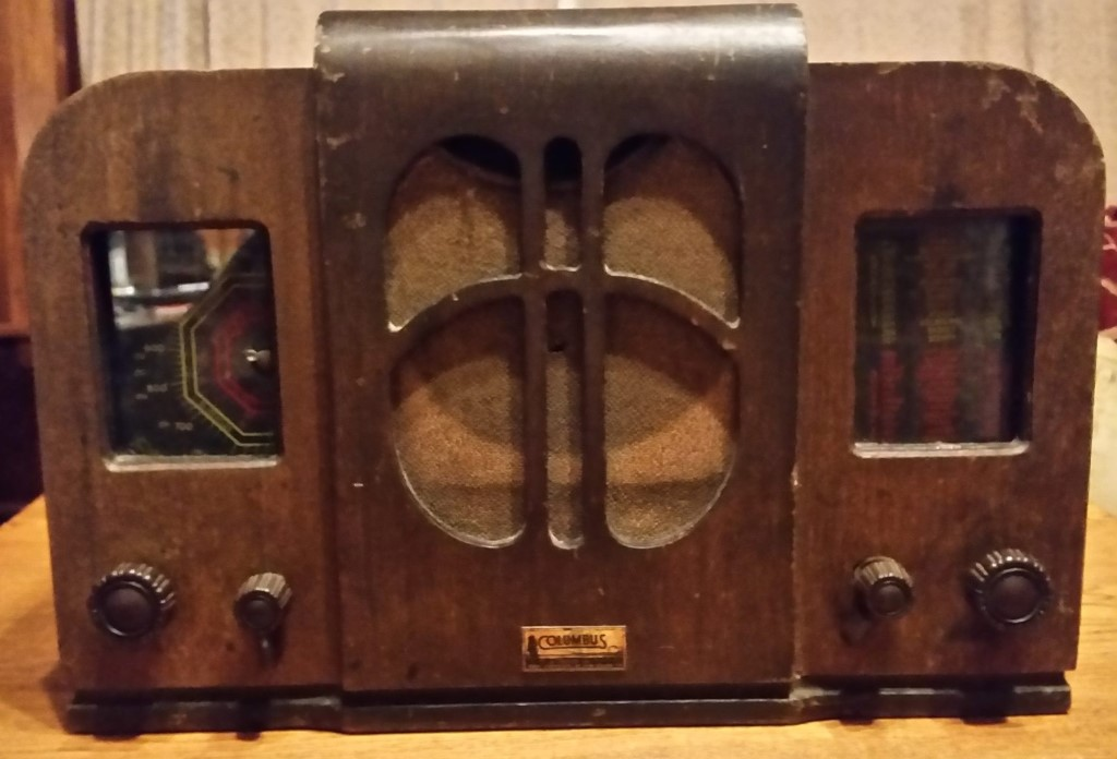 NZ Vintage Radio - Columbus 25