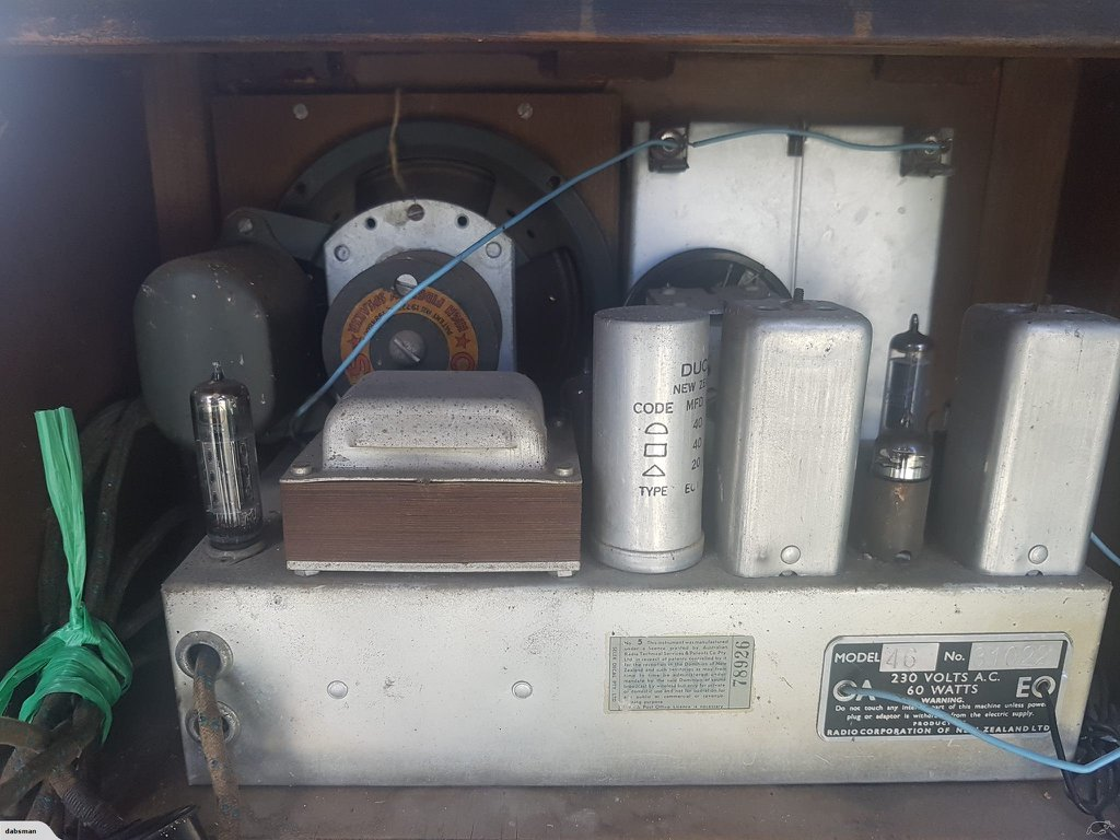 NZ Vintage Radio - 1953 Columbus model 46