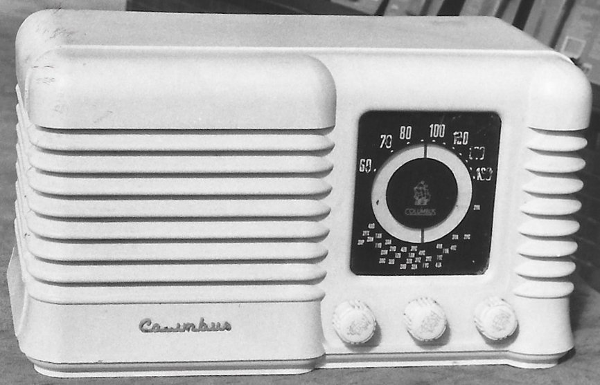 NZ Vintage Radio - 1955 Columbus model 504