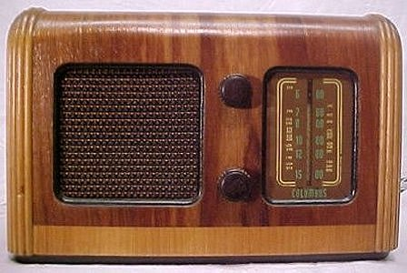 NZ Vintage Radio - Columbus 5B