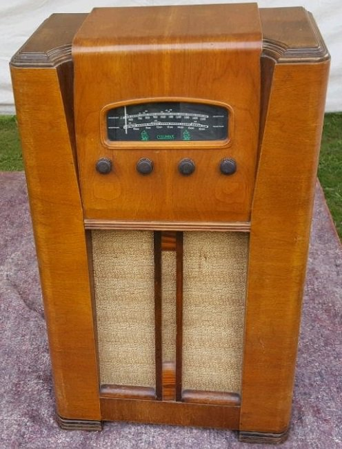 NZ Vintage Radio - 1948 Columbus model 61