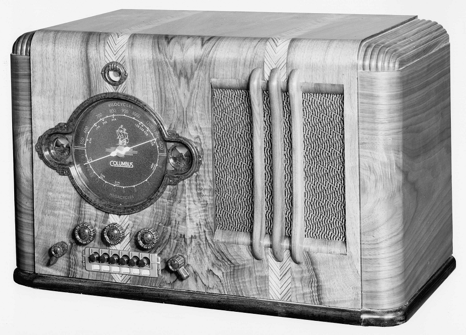 NZ Vintage Radio - 1940 Columbus model 65
