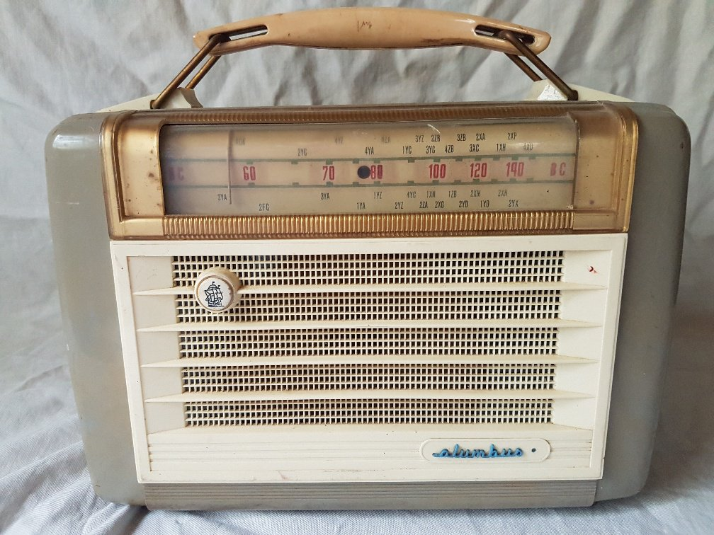 NZ Vintage Radio - 1955 Columbus 653A