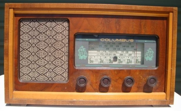 NZ Vintage Radio - 1958 Columbus model 809