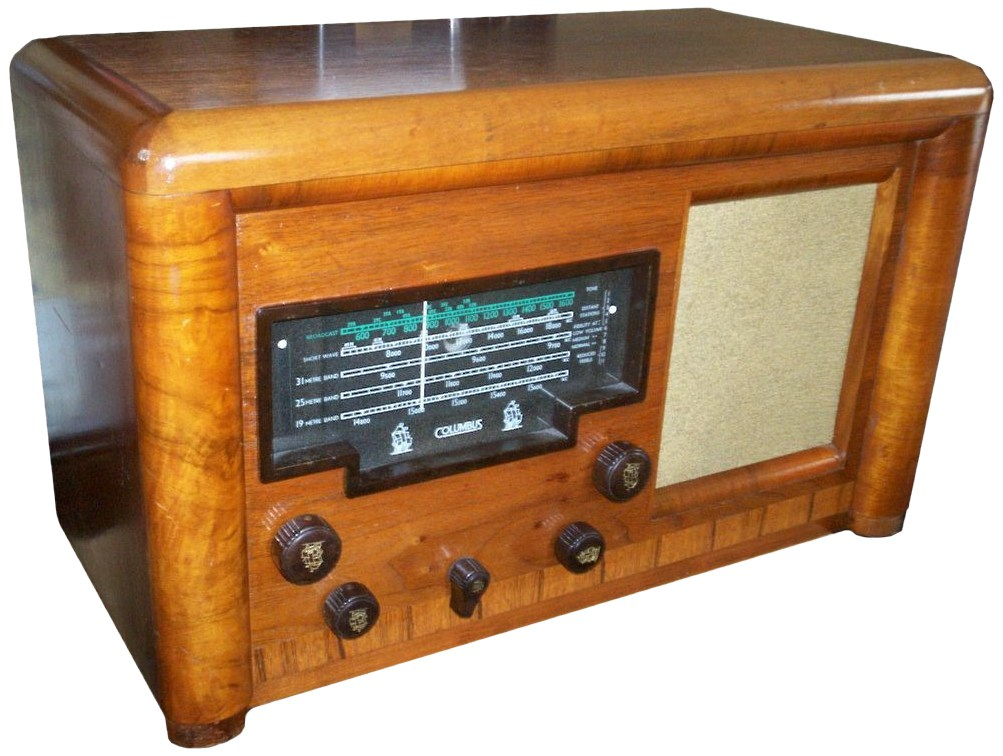 NZ Vintage Radio - Columbus 90 'Endeavour'