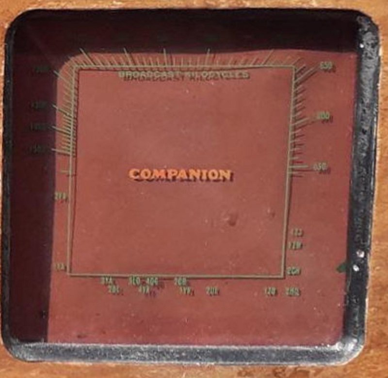 NZ Vintage Radio - 1937 Companion 57BC