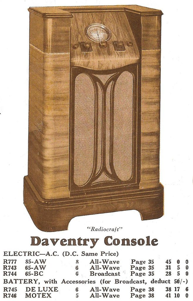 NZ Vintage Radio - Companion Daventry