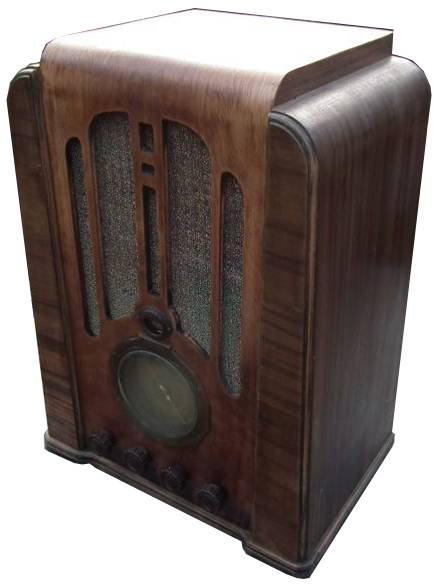 NZ Vintage Radio - Courtenay 18