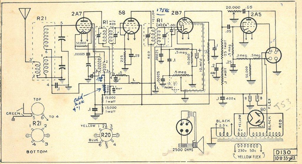 Radio Corp NZ Model 105 and 205