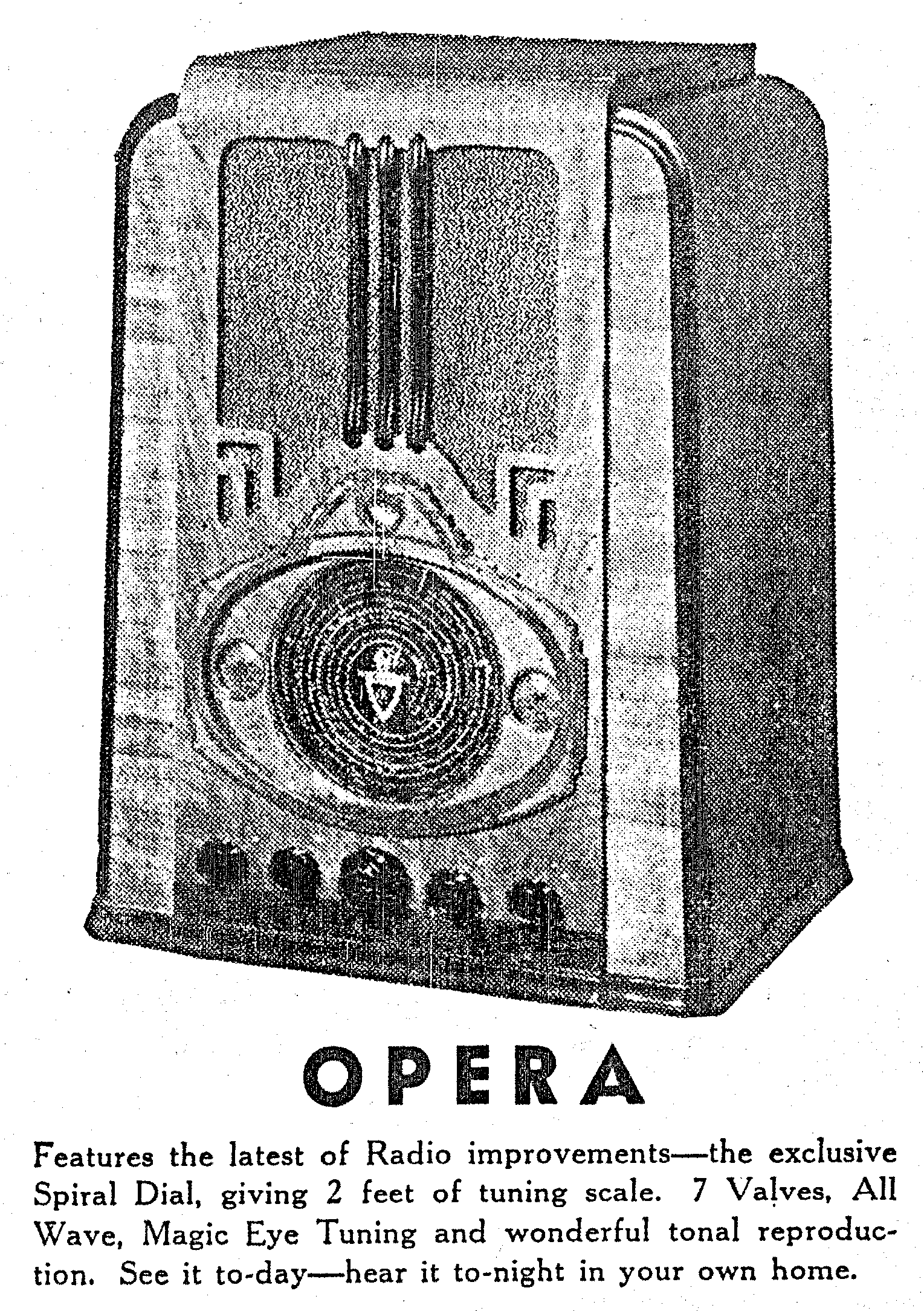 The NZ Vintage Radio Project - Courtenay model 38 'Opera' (1937)