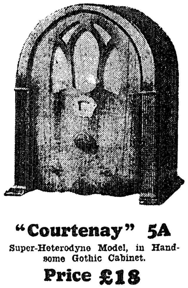 NZ Vintage Radio - 1932 Courtenay 5A