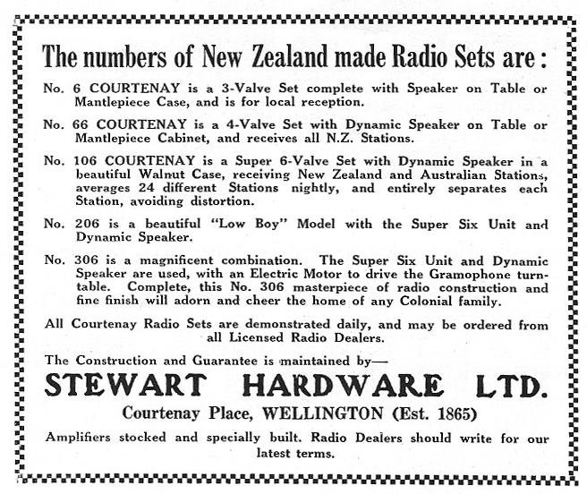 NZ Vintage Radio - 1931 Courtenay 66