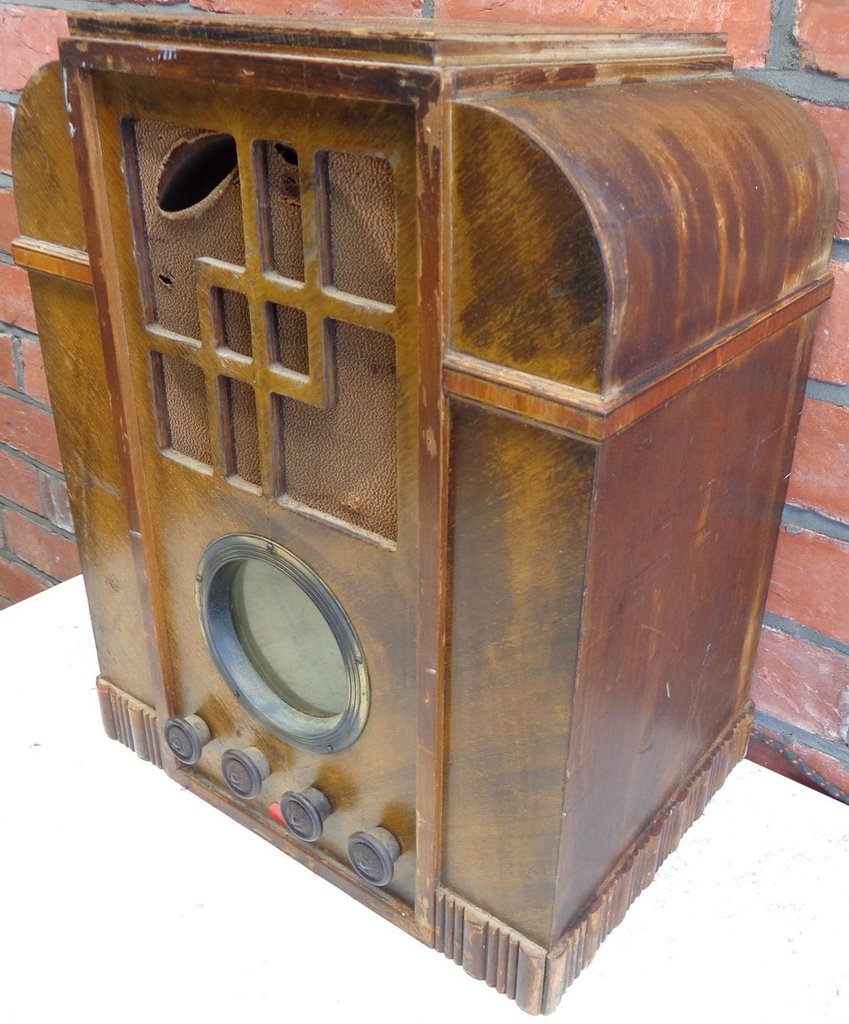 NZ Vintage Radio - 1934 Courtenay 7BD