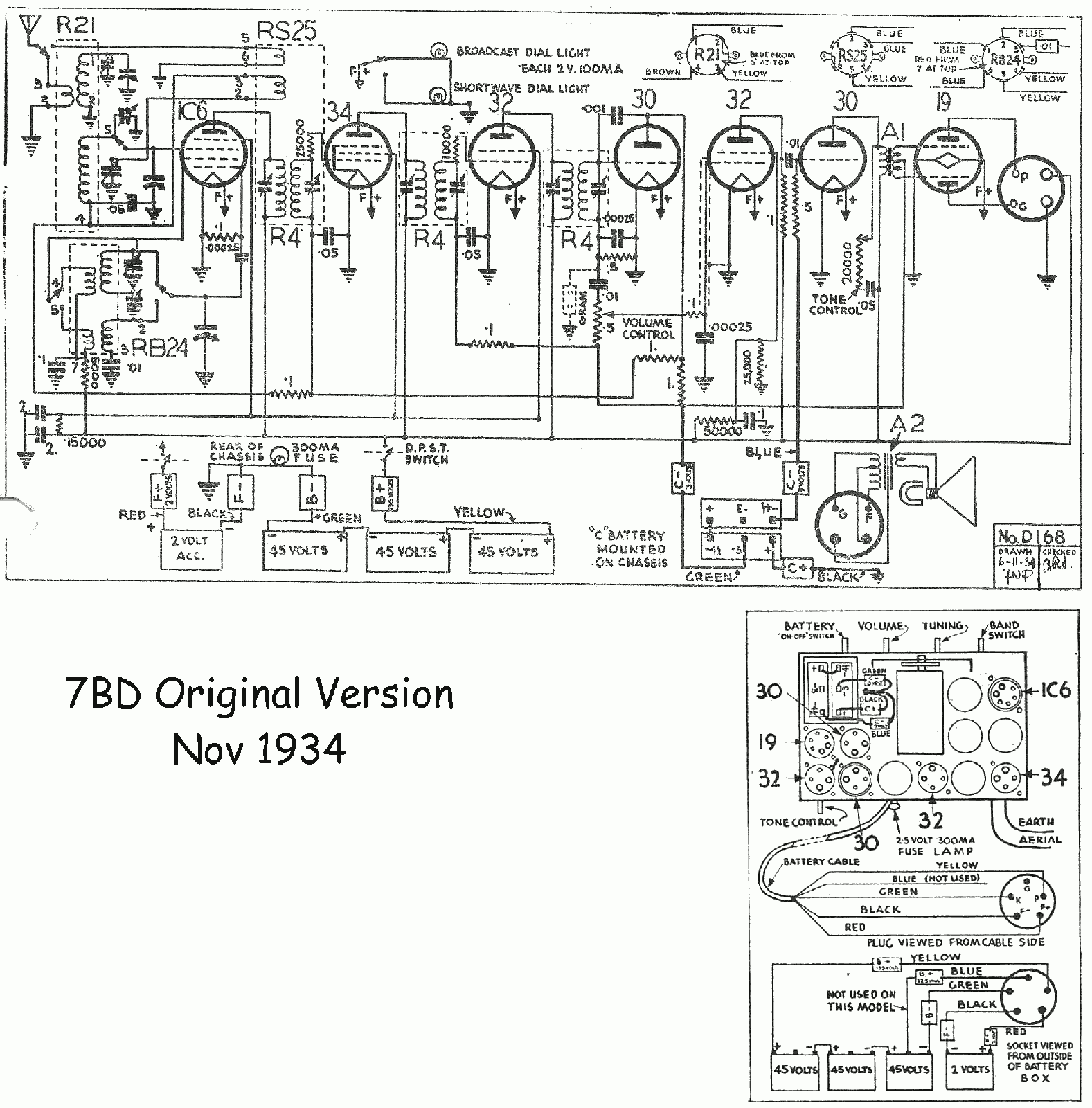 1934 Courtenay v1 7BD Schematic