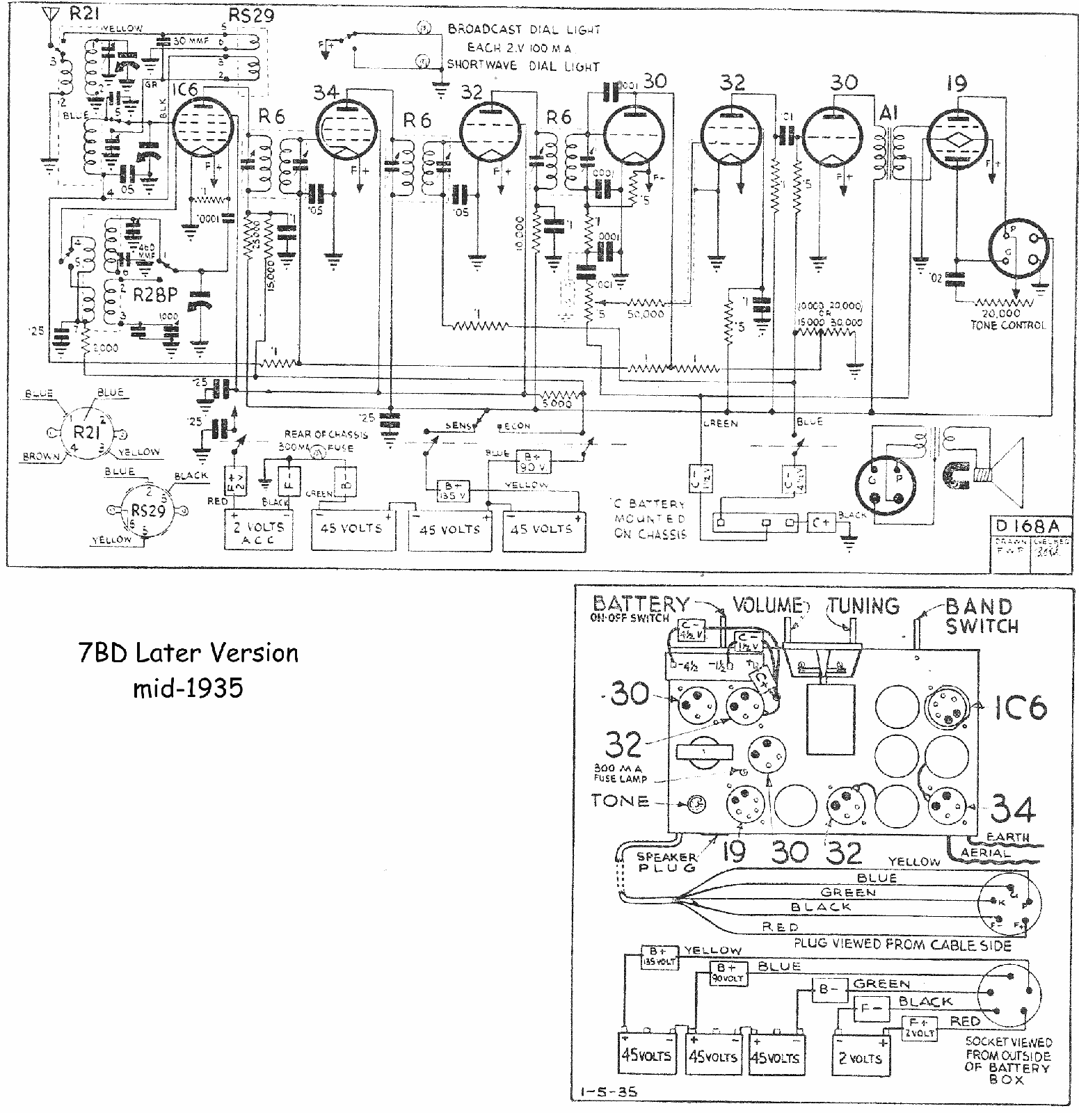 1934 Courtenay 7BD v2 Schematic