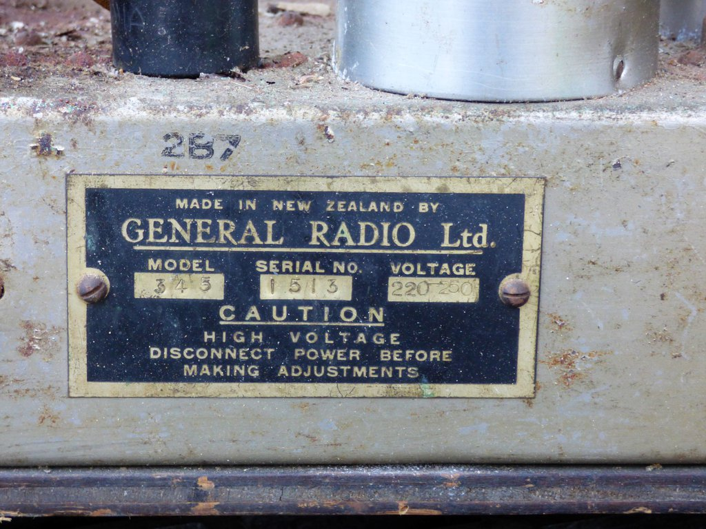 NZ Vintage Radio - 1934 Dominion model 345