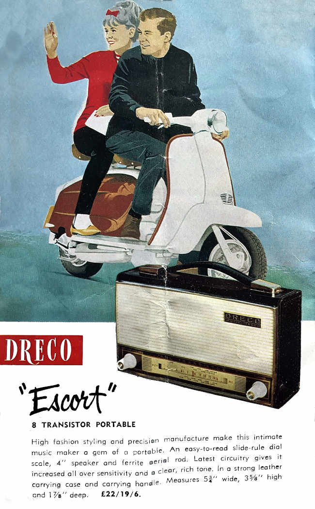 1963 Dreco Escort 'All Transistor'