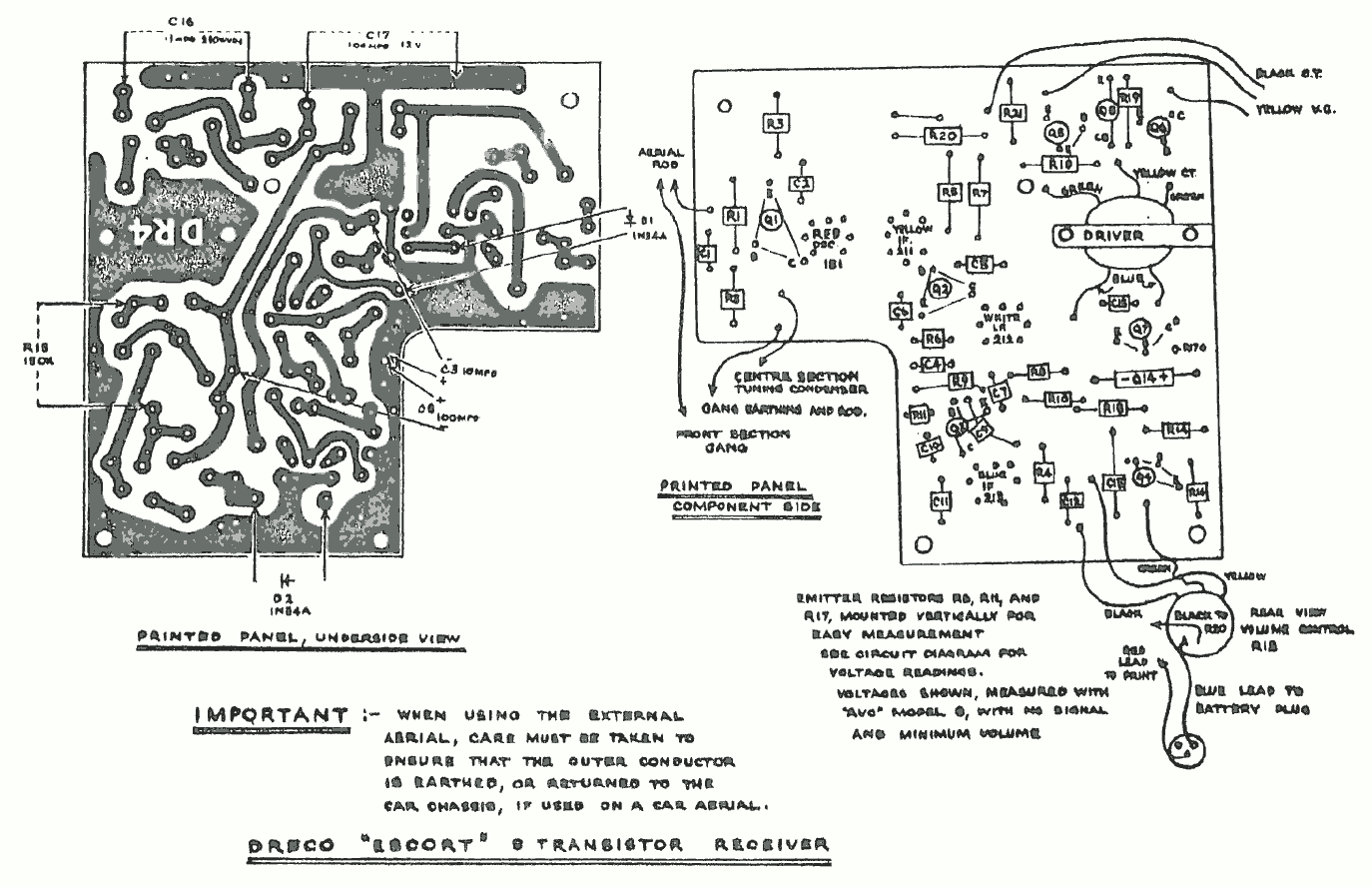 1963 Dreco Escort Layout