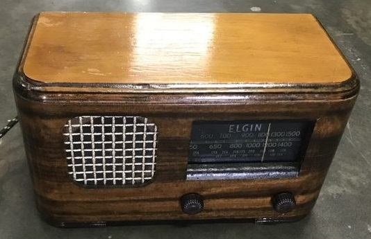 NZ Vintage Radio - Elgin 51