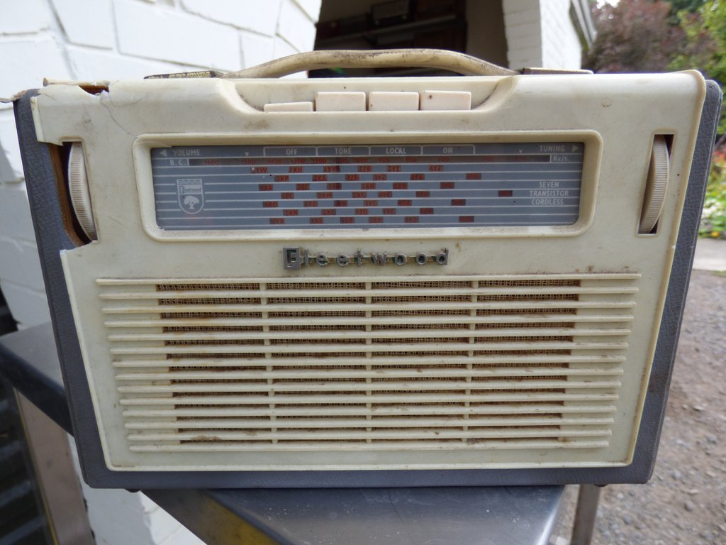 NZ Vintage Radio - 1961 Fleetwood FL374T