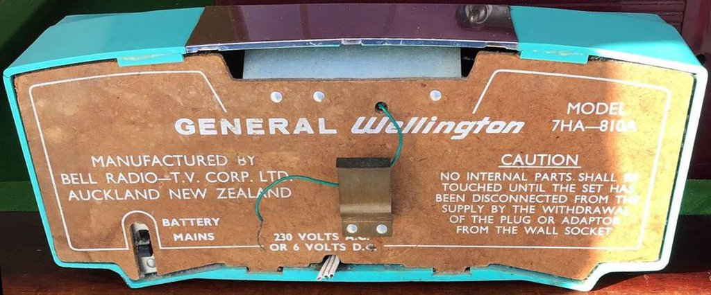 NZ Vintage Radio - 1964 General 7HA-810A