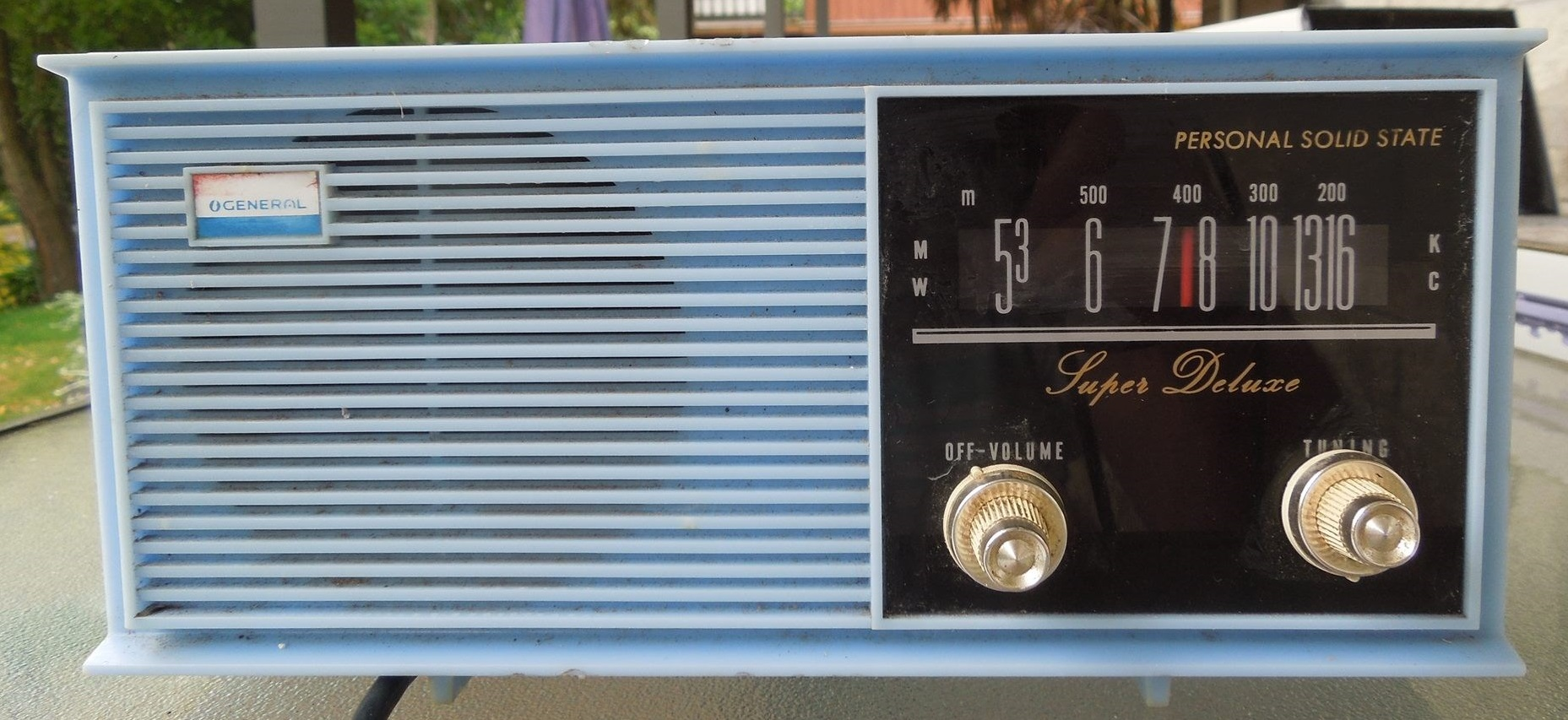 NZ Vintage Radio - General TR-603AC