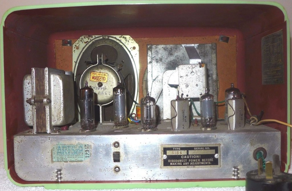 NZ Vintage Radio - 1954 Gulbransen  model 5154