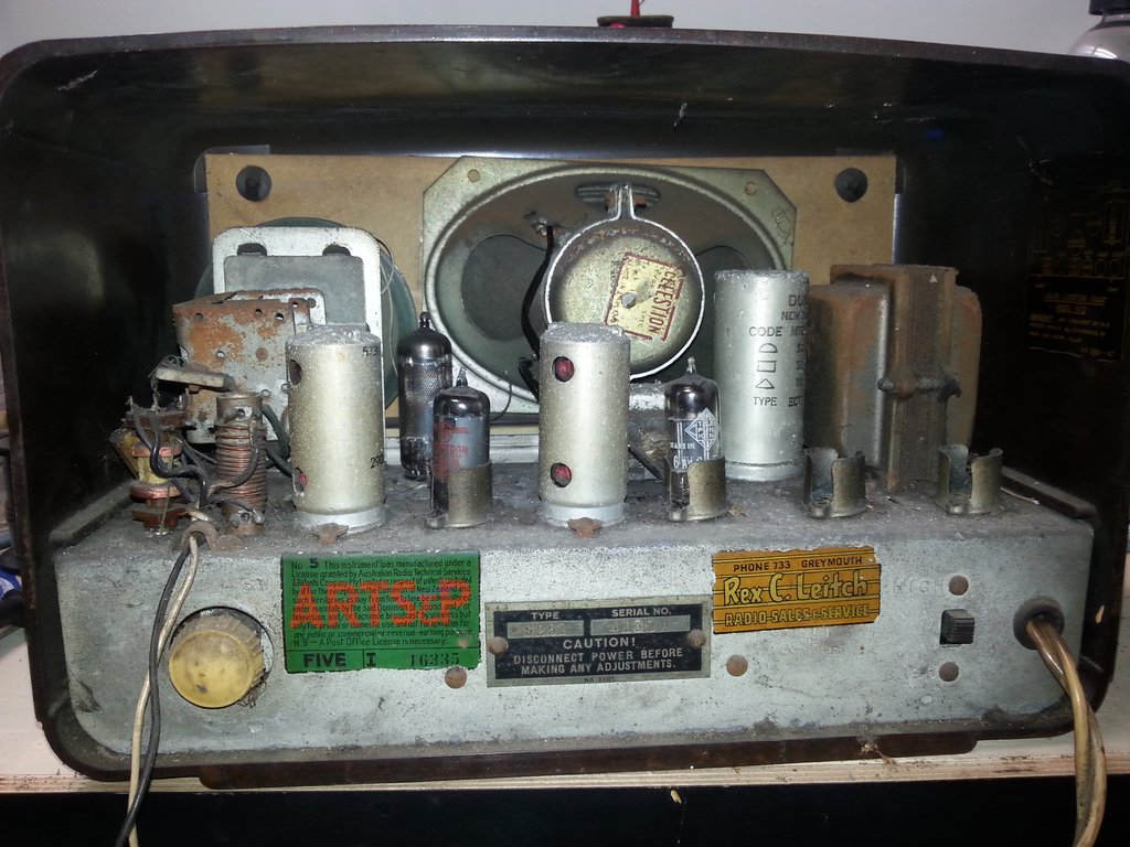 NZ Vintage Radio - 1951 Gulbransen model 5251