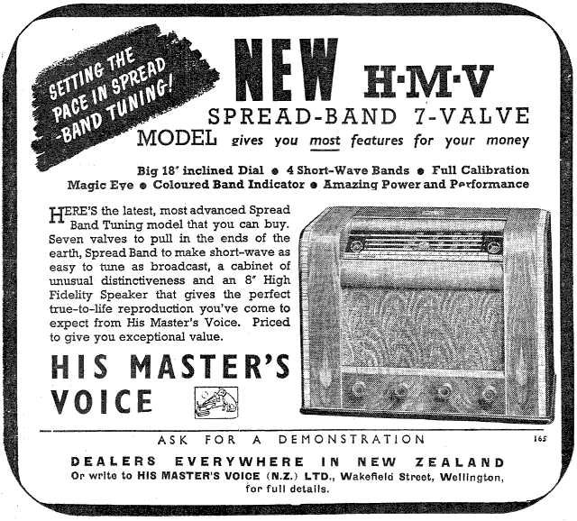 1940 HMV SB200 The Listener 18 July 1941