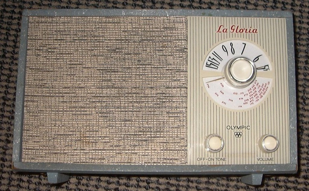 NZ Vintage Radio - 1961 La Gloria Olympic 'Cordless 8'