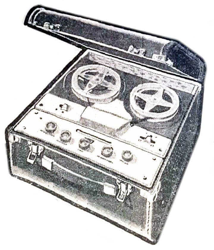 NZ Vintage Radio - 1960 La Gloria Radio-Tape-60