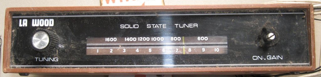 NZ Vintage Radio - La Wood TM1