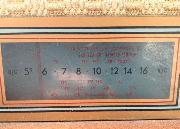NZ Vintage Radio - 1963 Majestic Upright 5V Stereogram