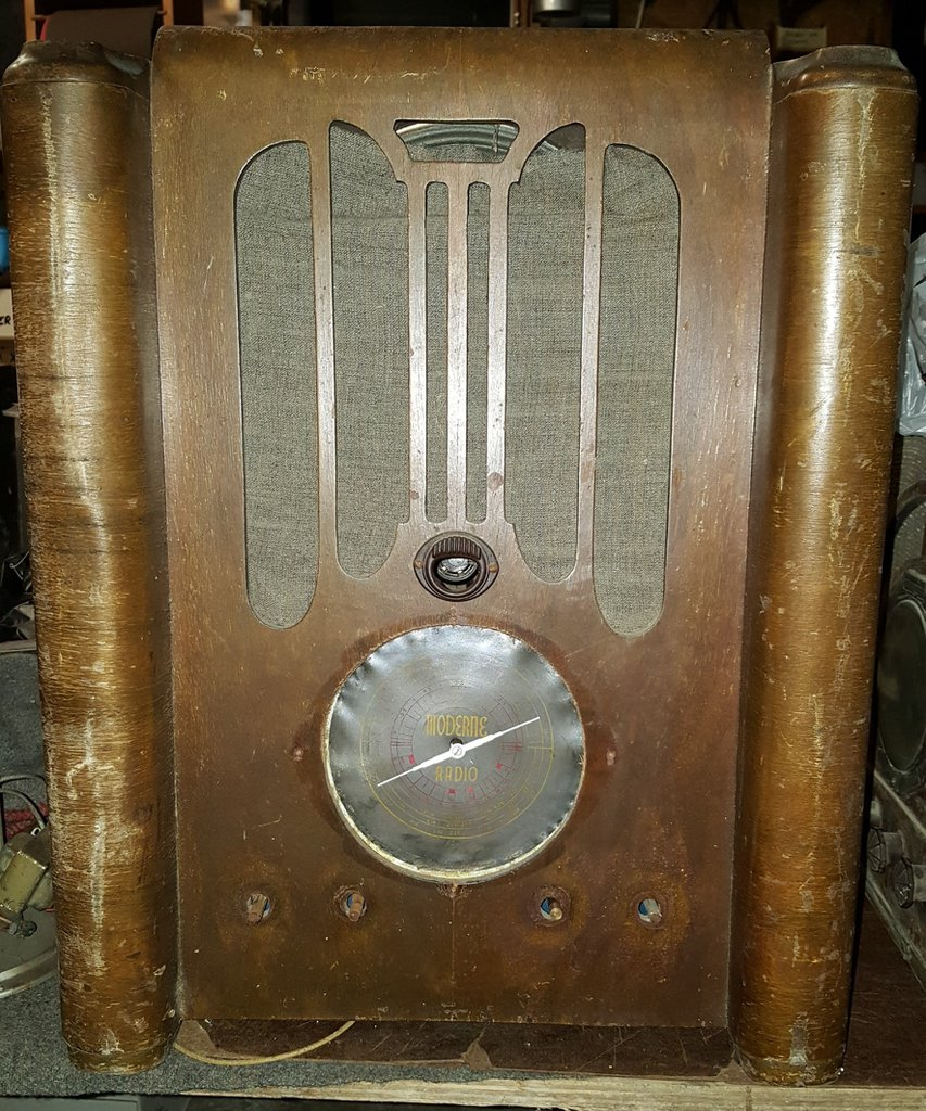 NZ Vintage Radio - 1937 Moderne 1937 All-Wave