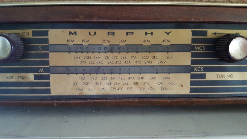 NZ Vintage Radio - 1959 Murphy MD54