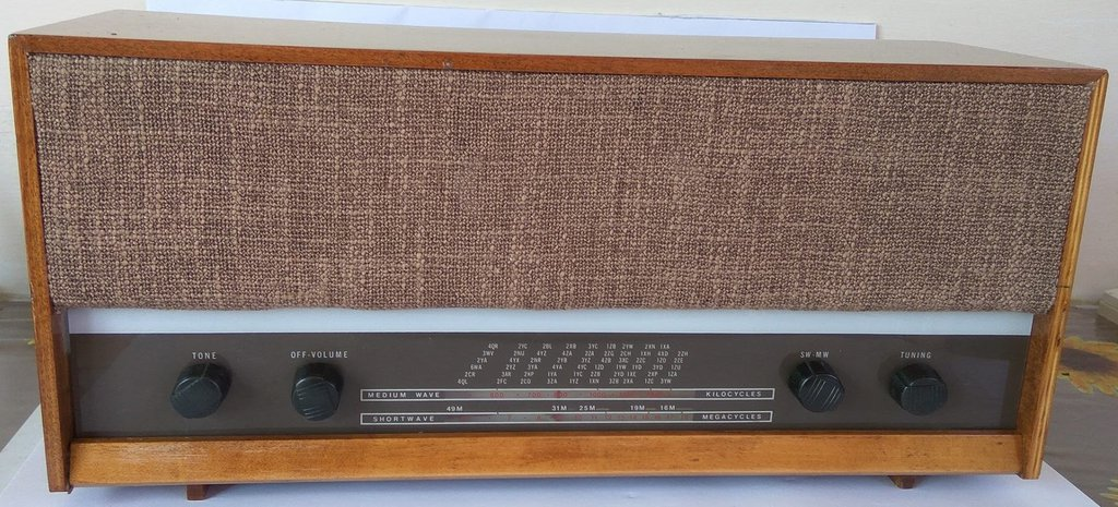 NZ Vintage Radio - 1963 Murphy MD58