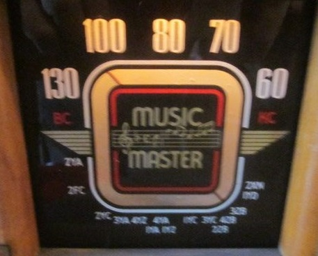 NZ Vintage Radio - Music Master STD5B
