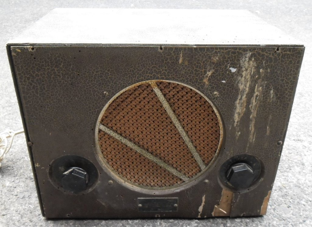 NZ Vintage Radio - 1939 National CMU