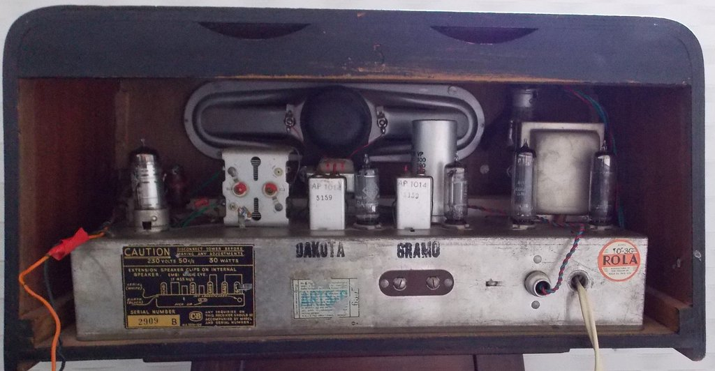 NZ Vintage Radio - Pacemaker Dakota