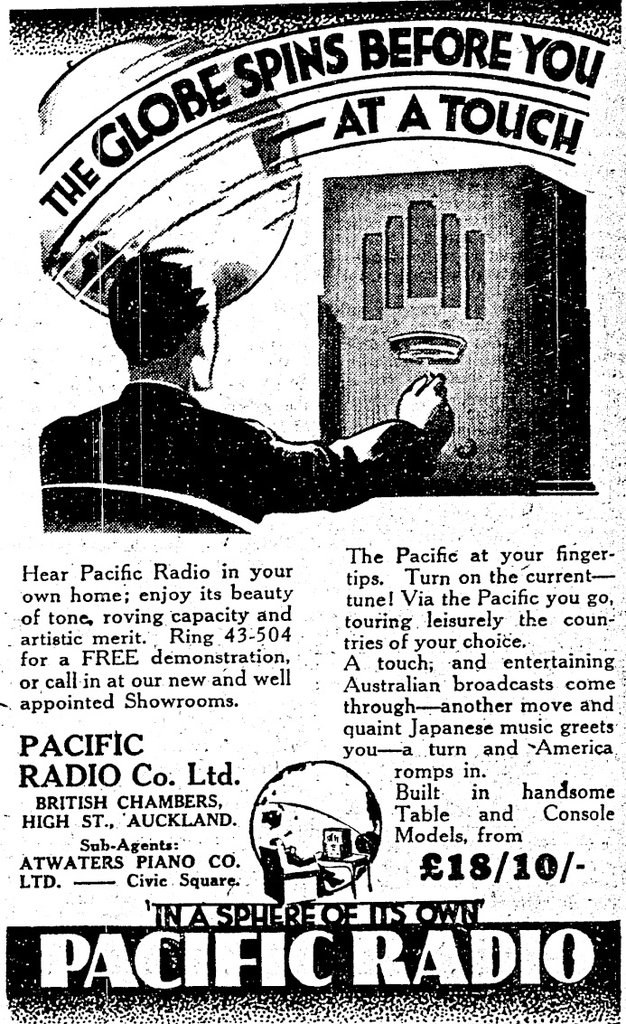 Pacific Model 140 - New Zealand Herald 23 September 1933