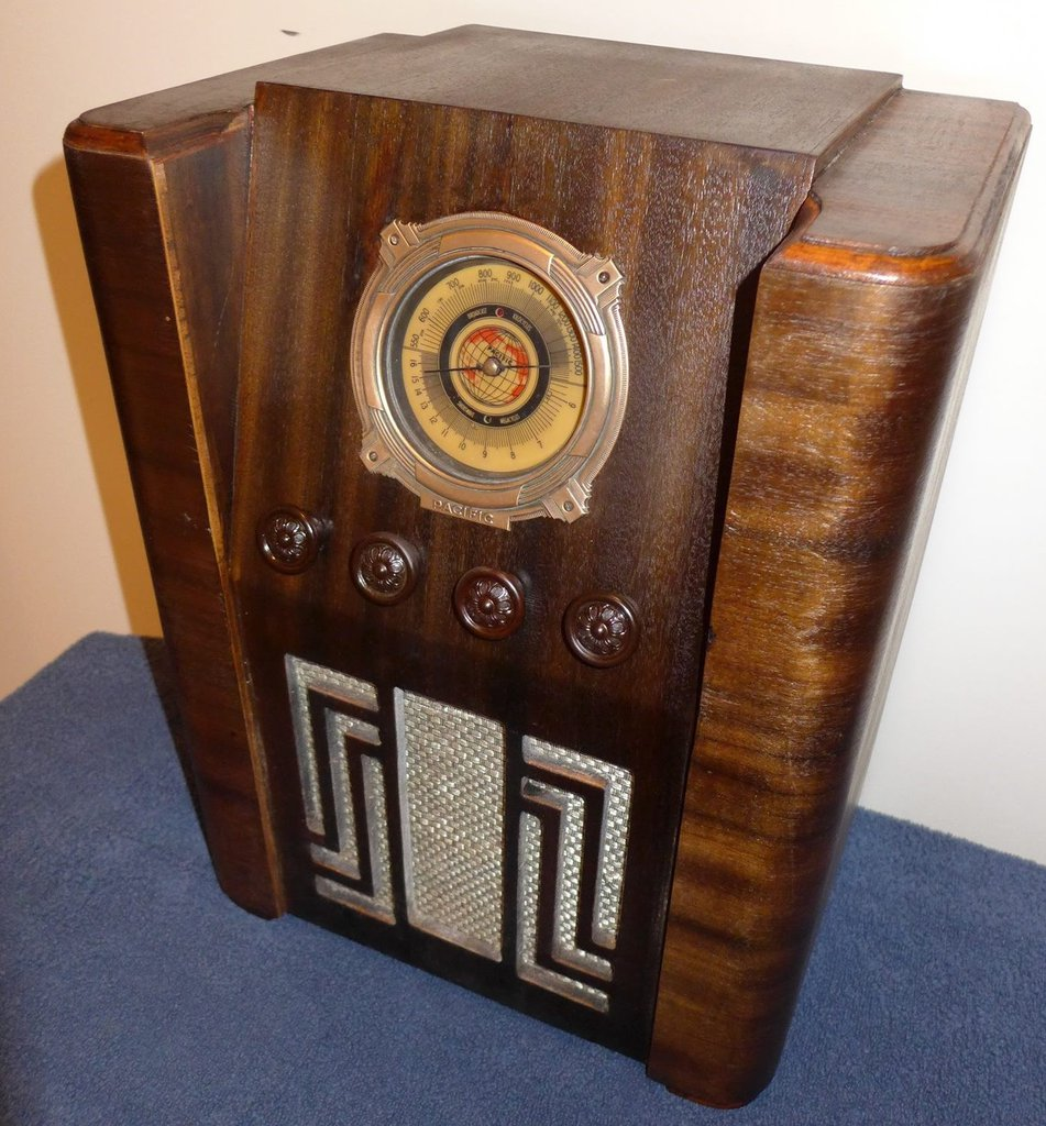 NZ Vintage Radio - Pacific 21