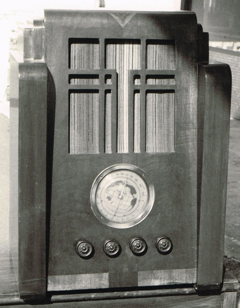 NZ Vintage Radio - Pacific Sherwood