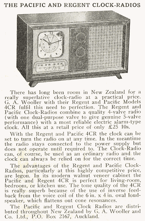 1953 Pacific (Post-WWII) 4CR Radio and Electronics Oct 53