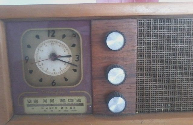 NZ Vintage Radio - 1953 Pacific (Post-WWII) 4CR