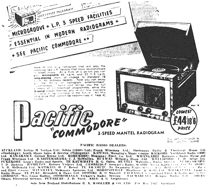 1951 Pacific (Post-WWII) 4G2 'Commodore'